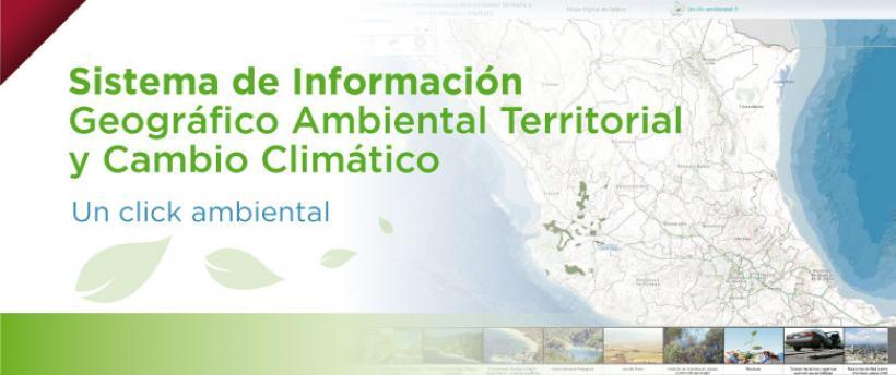 Sistema de Información Geográfico Ambiental Territorial y Cambio Climático